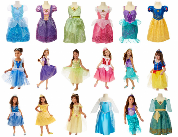 Disney Princess Dresses For $17 (reg $19 99 To $27 99)  Today Only