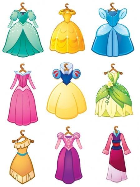 Disney Princess Images Disney Princess Dresses Hd Wallpaper And