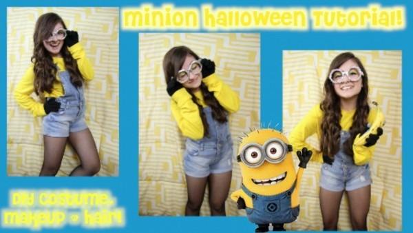 Diy Minion Halloween Costume Despicable Youtube