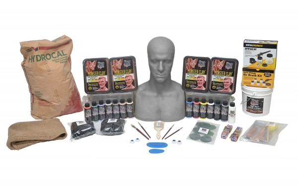 Deluxe Latex Mask Making Kit For Making Your Own Custom Latex Mask