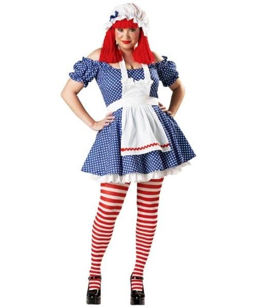 Racy Rag Doll Costume