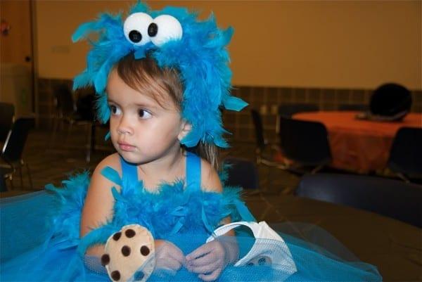 Kreyv  Stella's Cookie Monster Costume