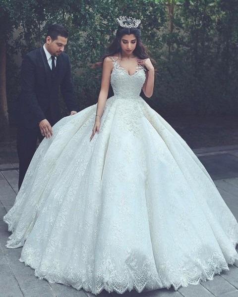 Lace Wedding Gowns,princess Wedding Dress,ball Gowns Wedding Dress