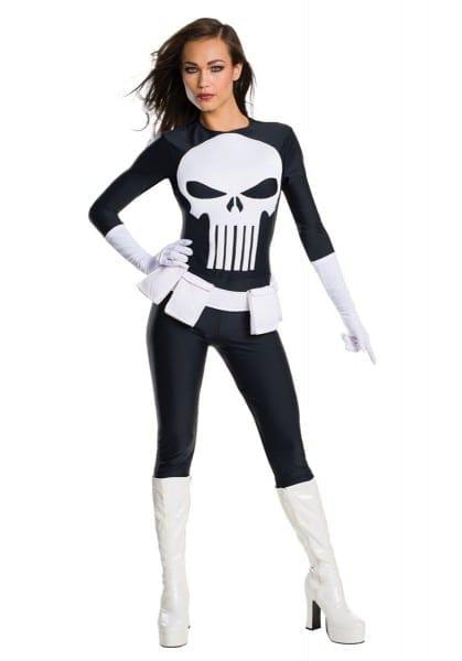 Sexy Womens Punisher Costume