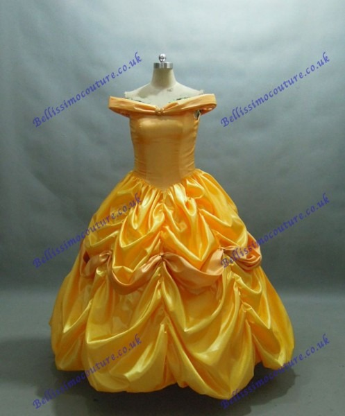Disney Dress Beauty And Beast Belle Costume Adult Size 6,8,10,12
