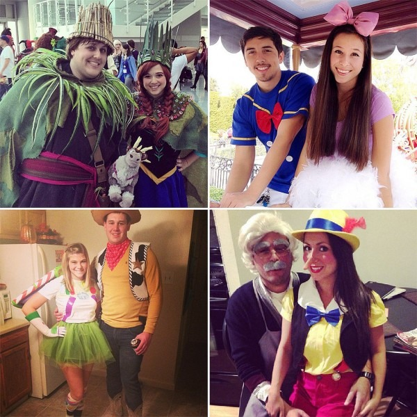 Easy Disney Couples Costume Costumes Best Party Supply Halloween, Easy Diy