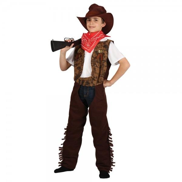 Boys Wild West Cowboy Sheriff Gunslinger Halloween Party Fun Fancy