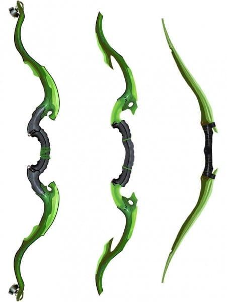 Green Arrow Bows