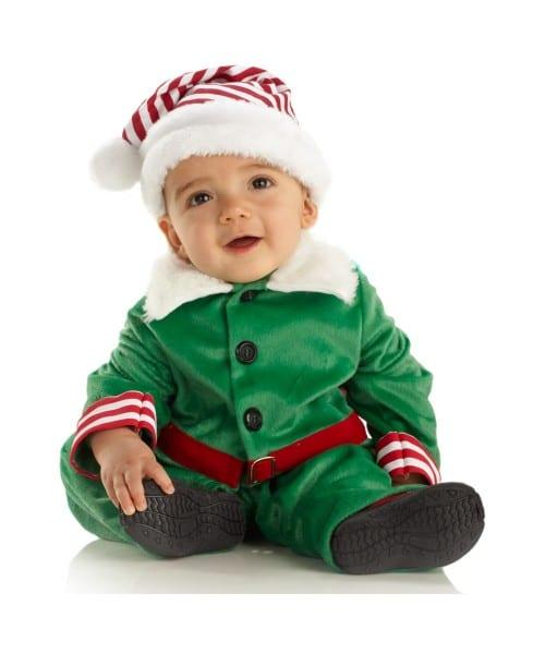 Baby Elf Santa Halloween Costume
