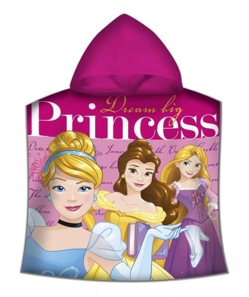 Disney Princess Poncho 50 100 Cm (fast Dry)