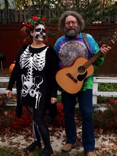 Jerry Garcia And Bertha! Grateful Dead Costume Nfa (awesome