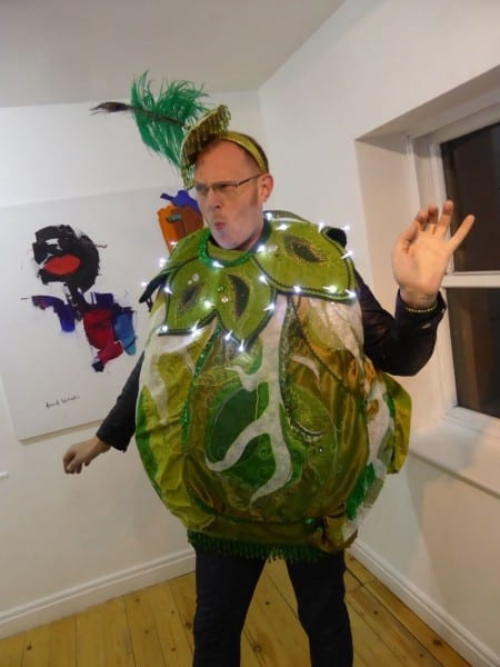Light Up Brussel Sprout Costume