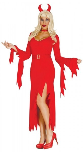Devil Costume Womens