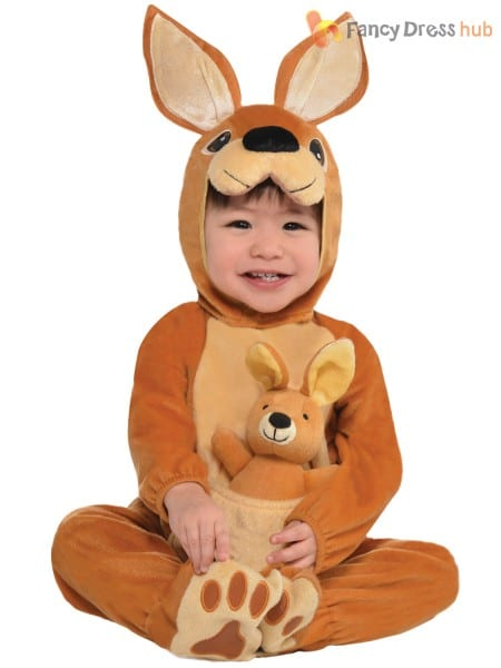 3db5fa9af1 Baby Toddler Animal Costume Boy Girl Zoo Jungle Fancy Dress Infant ...
