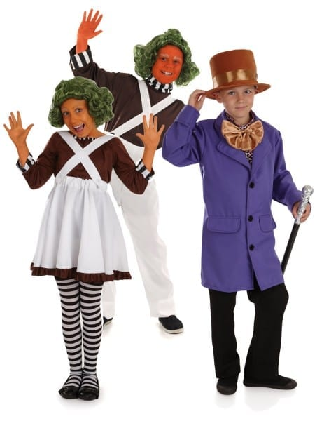 Kids Charlie & The Chocolate Factory Costume