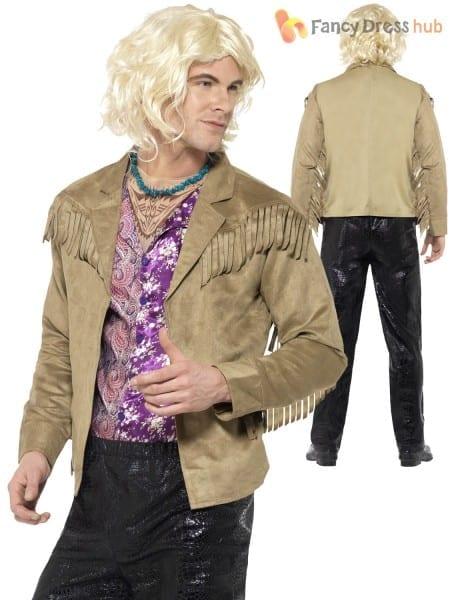 Adults Zoolander Costume Mens Derek Hansel Fancy Dress Licensed