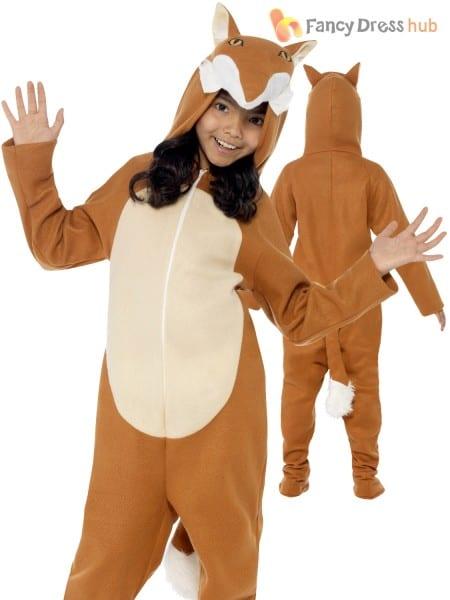 Childs Fox Costume Kids Animal Fancy Dress Boy Girl Fantastic Mr