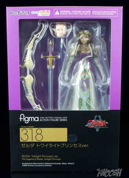 Figma  The Legend Of Zelda  Twilight Princess Zelda And Dx Link
