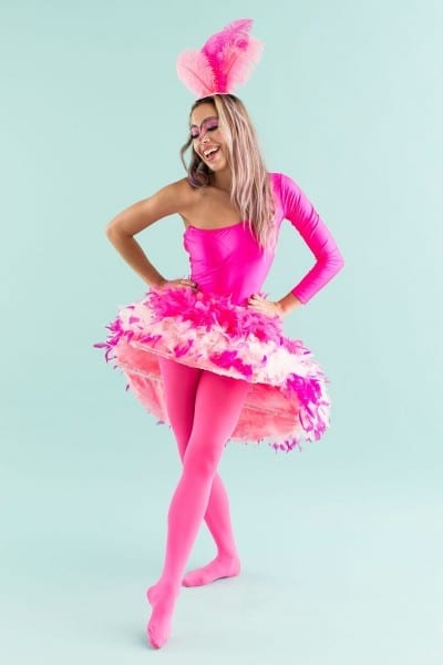 This Tutorial Will Make You Want To Be A Flamingo For Halloween