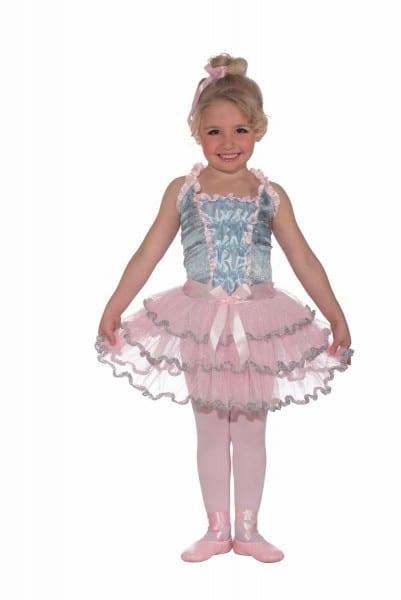 Kids Ballerina Princess Girls Costume