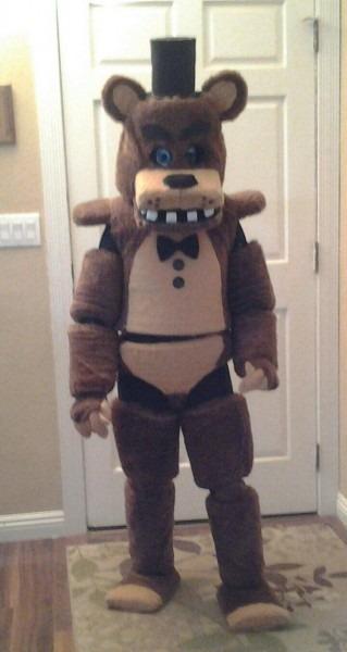 Freddy Fazbear Costume Updated By Theemmalo Ideas Of Mangle