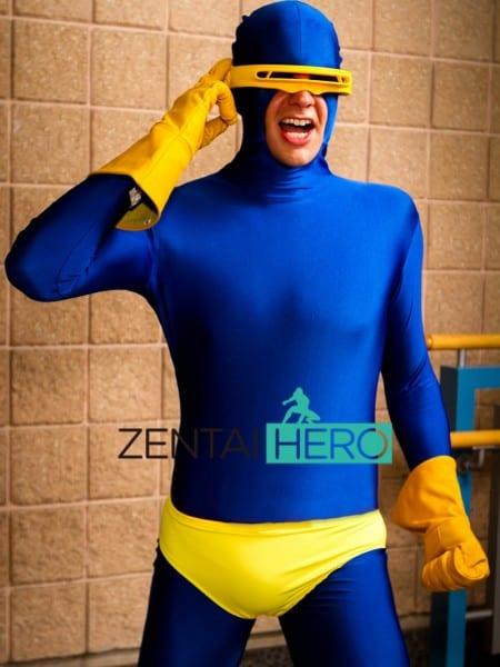 Free Shipping Dhl 2017 Adult X Men Cyclops Costume Superhero