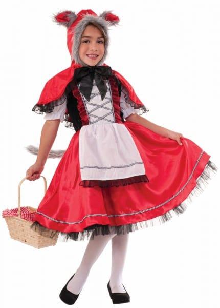 Little Red Riding Hood Wolf Costume Fancy Dress Halloween