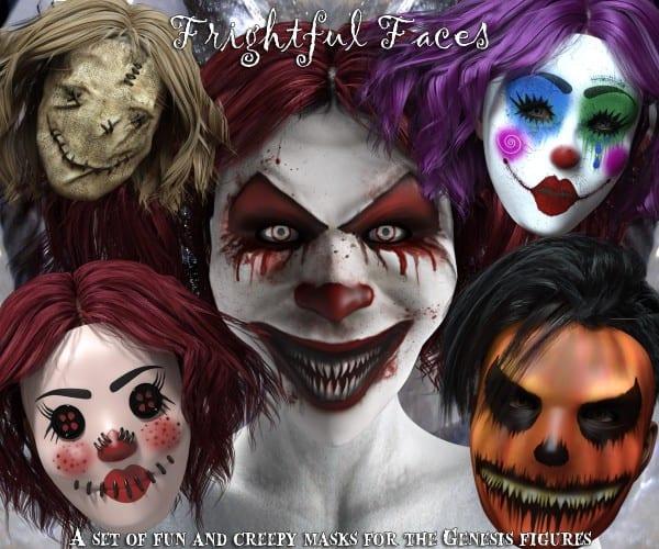 Frightful Faces