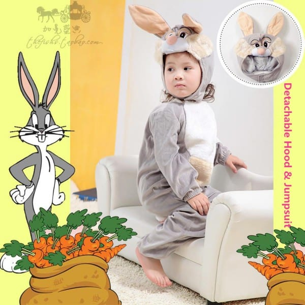 Online Shop Genuine Deluxe Baby Infant Kids Furry Bugs Bunny