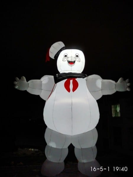 Giant Portable Lighting Advertising Inflatable Stay Puft