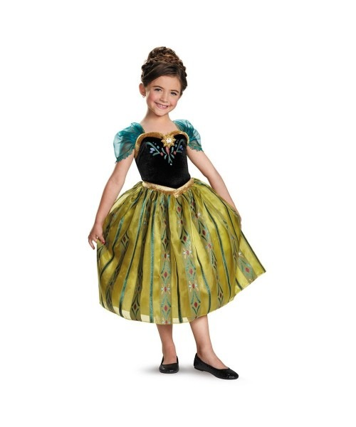 Frozen Anna Coronation Gown Toddler  Girls Costume