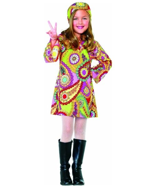 Groovy Girl Kids Costume