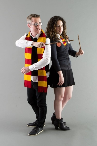 Harry Potter Costumes  Diy This Harry And Hermione Couples Costume