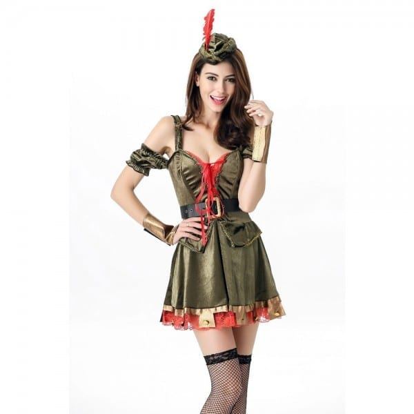 Halloween Woman's Accessories Masquerade Cosplay Costumes Green