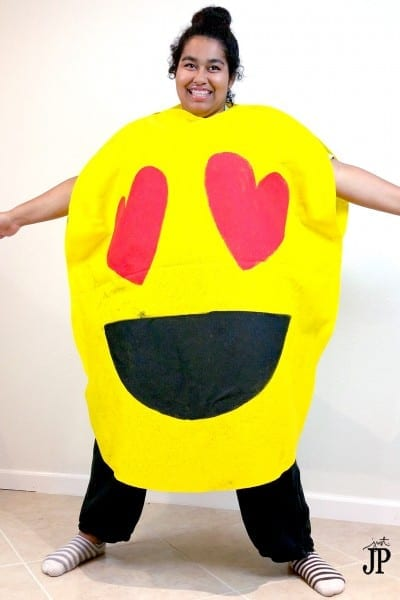 Two No Sew Diy Emoji Costumes For Under $25!  Jphalloween