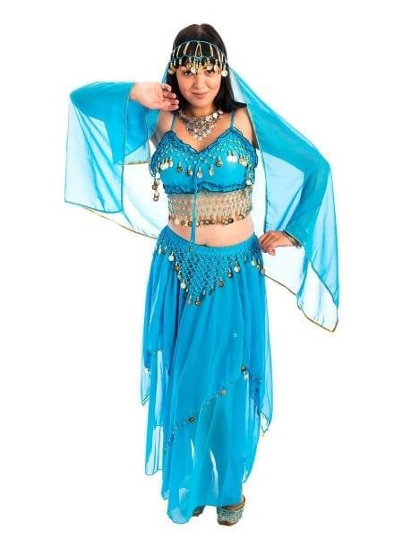 Blue Harem Girl Costume