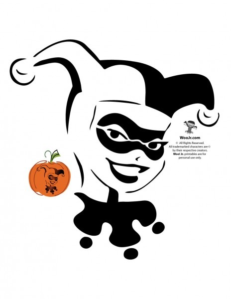 Superman, Batman, Wonder Woman & Dc Comics Villains Pumpkin