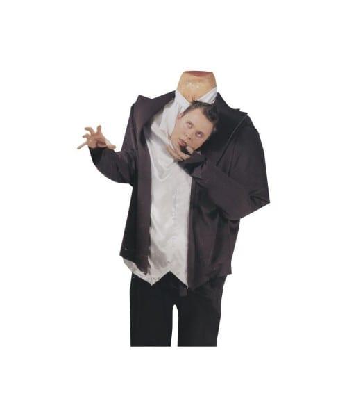 Ghost Headless Head Adult Costume
