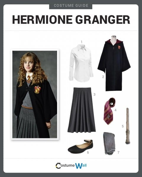 Dress Like Hermione Granger Costume