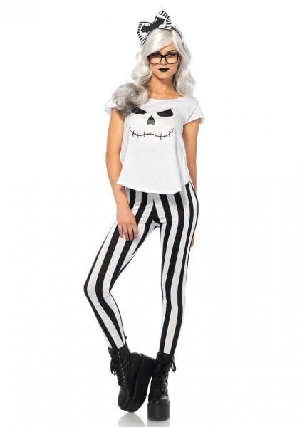 Hipster Skeleton Halloween Costume