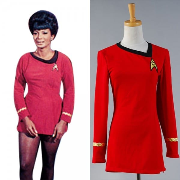 Star Trek Cosplay The Woman Duty Uniform Dress Costume Full Set