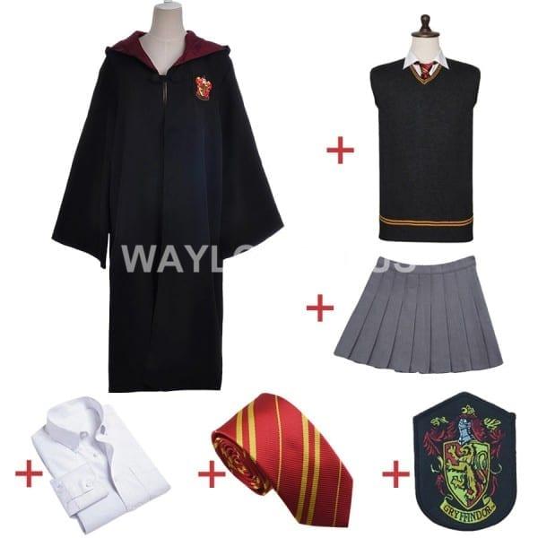 Gryffindor Uniform Hermione Granger Cosplay Costume Adult Version