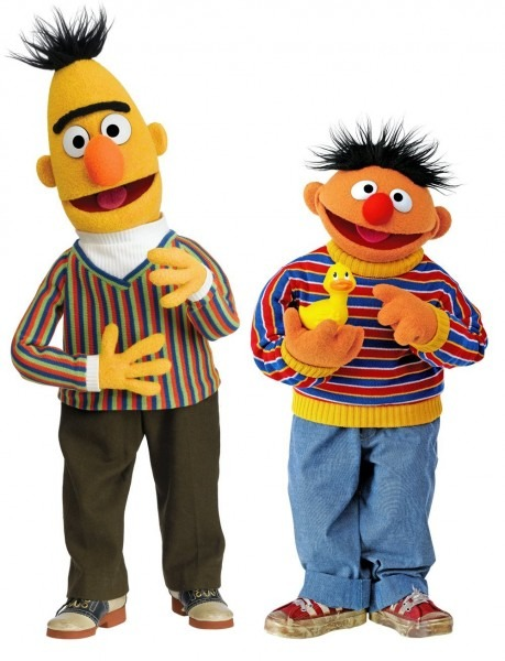 Buy Sesame Street Bert & Ernie Wall Decal Cutouts In Cheap Price