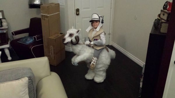 How Clint Case Won Halloween With A Tauntaun