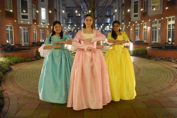 Angelica Schuyler Dress Hamilton Cosplay Hamilton Costume