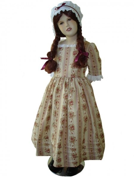 Custom Boutique American Girl Felicity Colonial Traveling Gown