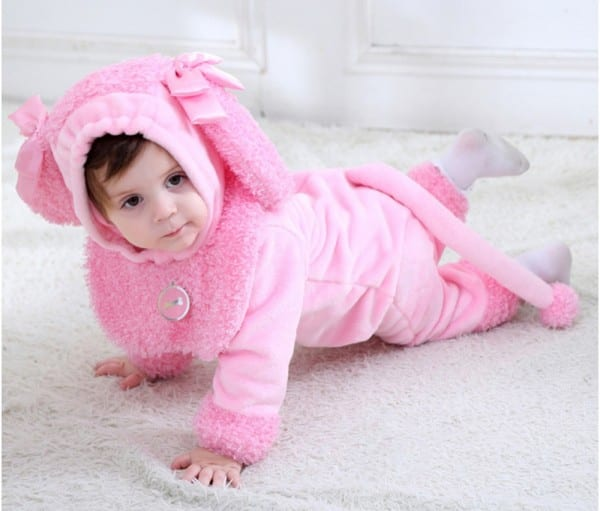 Aliexpress Com   Buy Infant Toddler Baby Girls Pinkie Poodle Puppy