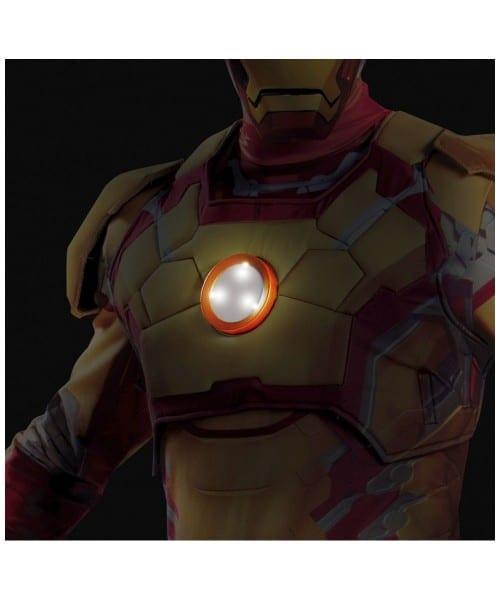 Iron Man 3 Mark 42 Adult Costume