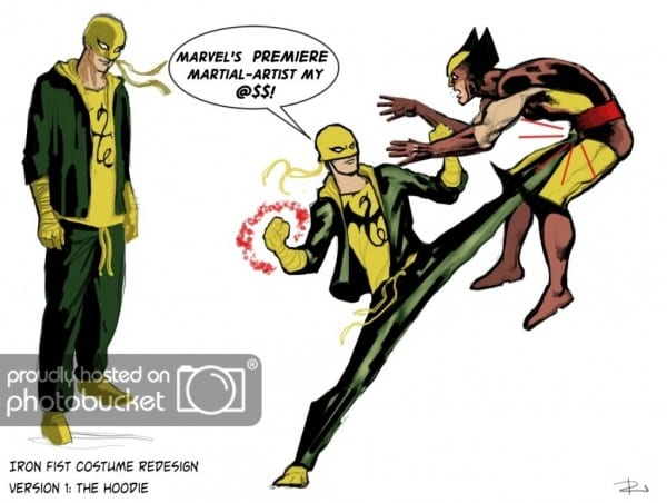Iron Fist  The Living Weapon Appreciation