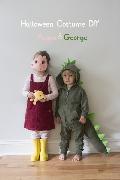 Halloween Diy  Peppa & George (as A Dinosaur) – Really Risa